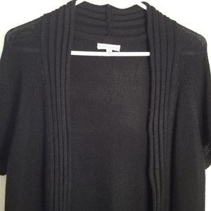 Croft & Barrow open cardigan sweater short sleeve